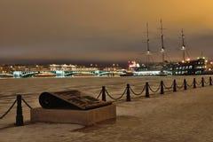 Взгляд моста обменом и ресторана корабля flyi Стоковые Изображения RF