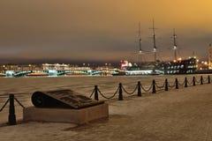 Взгляд моста обменом и ресторана корабля flyi Стоковое Изображение RF
