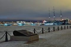 Взгляд моста обменом и ресторана корабля flyi Стоковые Изображения