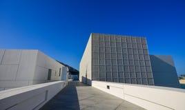 Взгляд музея Абу-Даби жалюзи стоковое изображение rf