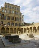 Взгляд музея Баку под открытым небом стоковое фото rf