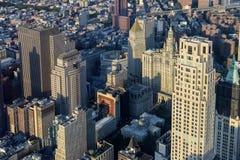 Взгляд над Манхаттаном стоковая фотография