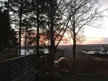 Взгляд над Silkeborg Стоковые Фото