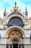 Взгляд на базилике Сан Marco Стоковое Изображение