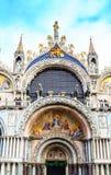 Взгляд на базилике Сан Marco Стоковая Фотография