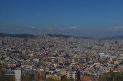 Взгляд на Барселона Стоковые Фото