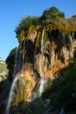 Взгляд на водопадах принца Кроны, река Gedmysh, республика Kabardino-Balkar, Кавказ, Россия Стоковое Фото