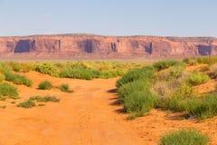 Взгляд на горной породе в Аризоне, США стоковые изображения