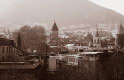 Взгляд на городе Тбилиси стоковое изображение