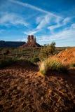 Взгляд на долине памятника, Аризоне, США стоковая фотография rf