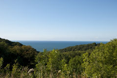 Взгляд на море стоковое изображение rf