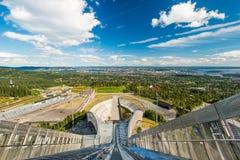 Взгляд на Осло Стоковая Фотография