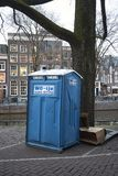 Взгляд на открытом воздухе туалета стоковые фото
