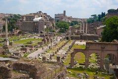 Взгляд на Рим Стоковое Изображение