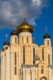 Взгляд на церков всех Святых в Lida, Беларуси Стоковое Фото