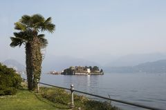Взгляд на Isola Bella Стоковая Фотография RF