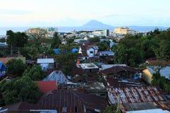 Взгляд на Manado стоковые фотографии rf