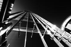 Взгляд небоскреба от вниз Стоковые Фотографии RF