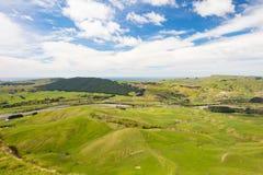 Взгляд Новая Зеландия пика Te Mata стоковая фотография