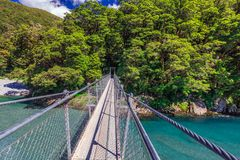 Взгляд Новой Зеландии Стоковая Фотография