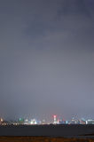 взгляд ночи города Стоковые Изображения RF
