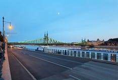 взгляд ночи budapest Стоковое Изображение RF