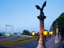 взгляд ночи budapest Стоковое Изображение