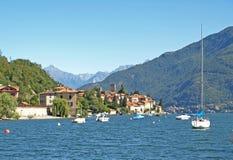 взгляд озера Италии como Стоковая Фотография