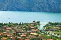 взгляд озера Италии garda северный Стоковое фото RF