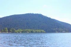 Взгляд озера geradmer в Франции стоковое фото