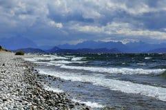 Взгляд озера Nahuel Huapi Стоковые Изображения