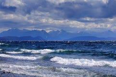 Взгляд озера Nahuel Huapi Стоковые Фотографии RF