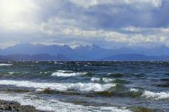Взгляд озера Nahuel Huapi Стоковые Фото