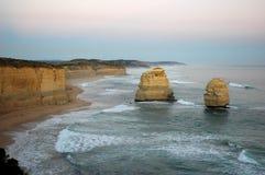 взгляд океана Австралии южный Стоковые Изображения RF