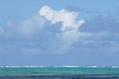 взгляд океана Маврикия стоковые изображения rf