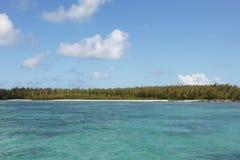 взгляд океана Маврикия стоковая фотография