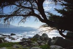 Взгляд океана от 17 миль привода Стоковое Изображение RF