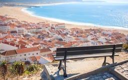 Взгляд океана, Португалии Стоковое Фото