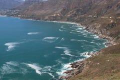 взгляд океана сногсшибательный от высот Стоковые Изображения RF