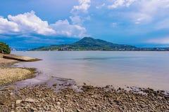 Взгляд океана сценарный в Tamsui Стоковые Изображения