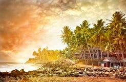 взгляд океана тропический стоковое изображение rf