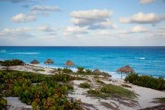 взгляд океана cancun Стоковые Фото