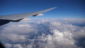 Взгляд окна самолета акции видеоматериалы