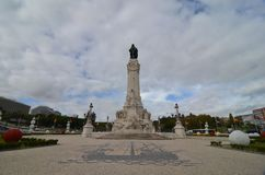 Взгляд ориентир ориентира Лиссабона, Португалия стоковая фотография rf