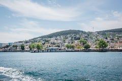 Взгляд острова Heybeliada в Стамбуле, Турции стоковое фото
