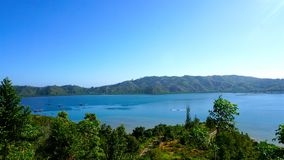 Взгляд острова mande Стоковые Фотографии RF