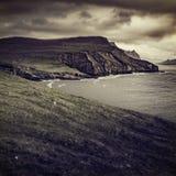 Взгляд острова mykines Стоковые Изображения RF