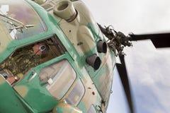 Взгляд от арены вертолета стоковые изображения rf