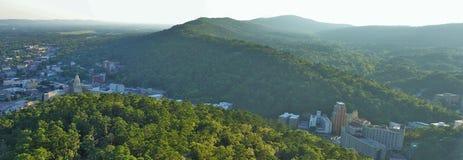 Взгляд от башни горы Стоковая Фотография RF