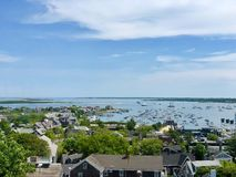 Взгляд от башни центра для посетителей Массачусетса стоковые фотографии rf
